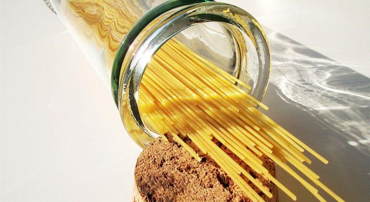 Pasta pesto met sperziebonen